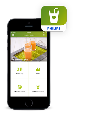 Philips Healthy Drinks I-phone app