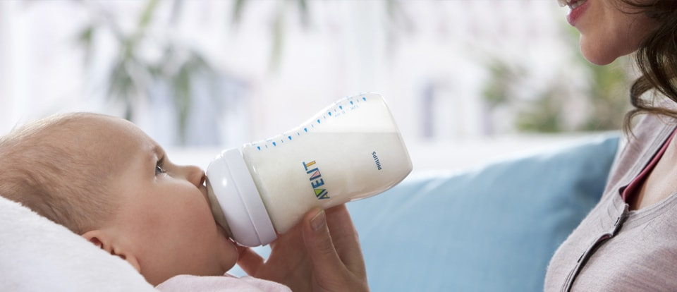 Philips AVENT - Moving from breastfeeding to bottle feeding