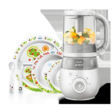 Robots de cocina y vajillas