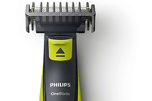 Philips Norelco OneBlade Unique Technology: Flex and pivot combs