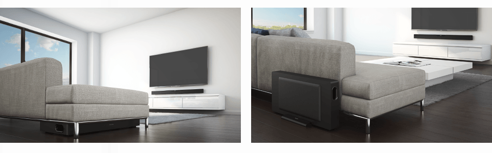 SoundBar-Lautsprecher Sorround Systems