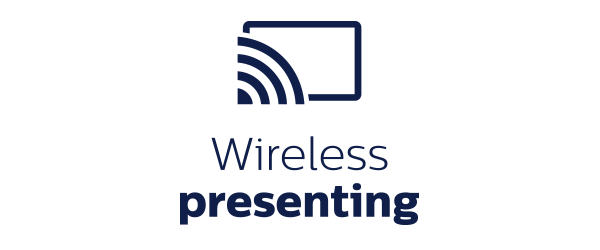 Wireless presenting - professional display